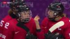 Video «Eishockey Frauen: Bronzespiel Schweiz - Schweden» abspielen
