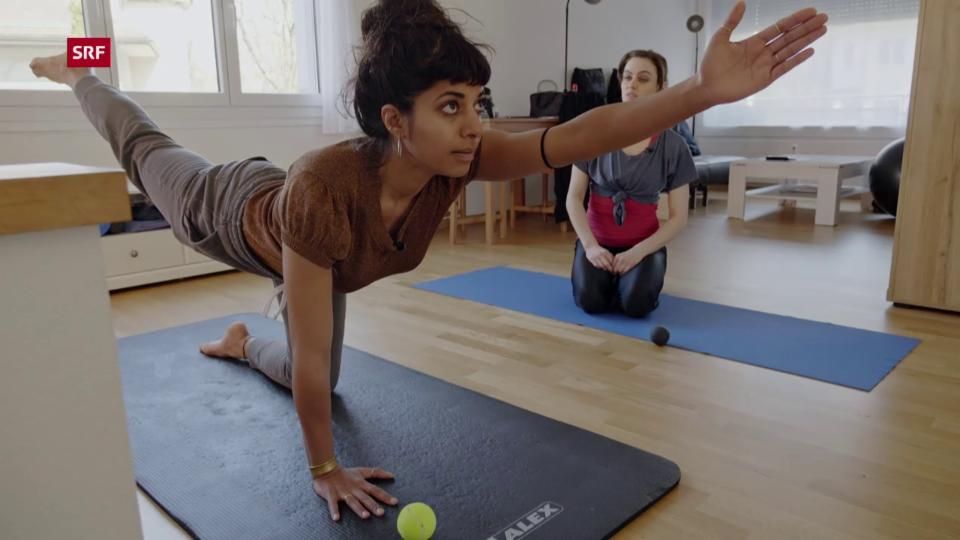 «Achtung, fertig, fit!» mit Schlangenfrau Nina Burri