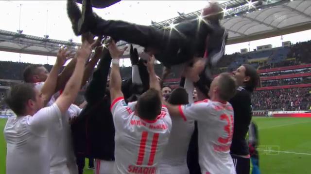 Bayern München ist deutscher Meister («sportaktuell»)