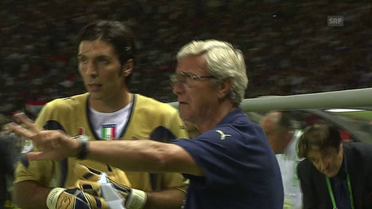 Fussball: Buffon im WM-Final 2006