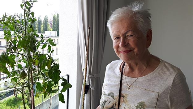Von St. Ursen in die Stadt: kein Problem für Ida Egger Spirig