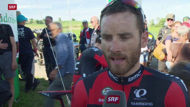 Video «Rad: Strassen-SM in Steinmaur» abspielen