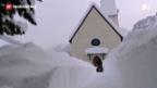 Video «Glarus versinkt im Schnee» abspielen
