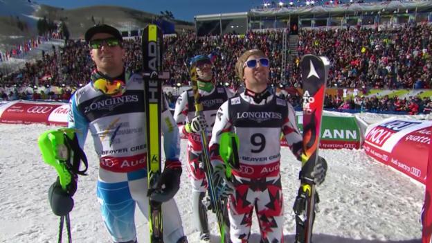 Video «Ski: WM Vail, Zusammenfassung Super-Kombi» abspielen