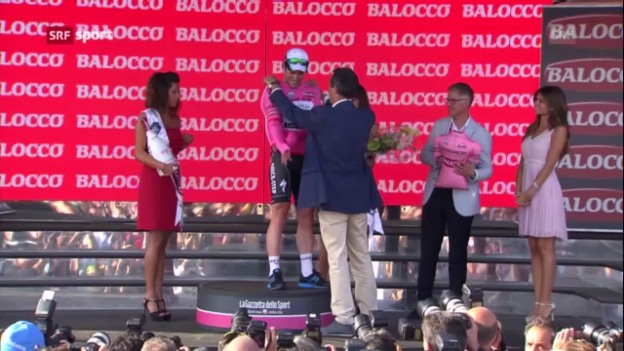 Video «Auftakt zum Giro d'Italia («sportaktuell»)» abspielen