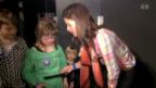 Video «Christa Rigozzi und Melanie Oesch erfüllen Herzenswünsche» abspielen