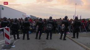 Video «Balkan-Länder mit Flüchtlingsansturm überfordert» abspielen