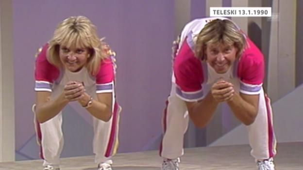 Video «Teleski-Sendung im Schweizer Fernsehen (1990)» abspielen