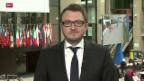 Video «Heftig diskutierter Türkei-Deal in Brüssel» abspielen