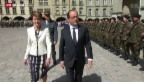 Video «Hollande auf Staatsbesuch in der Schweiz» abspielen