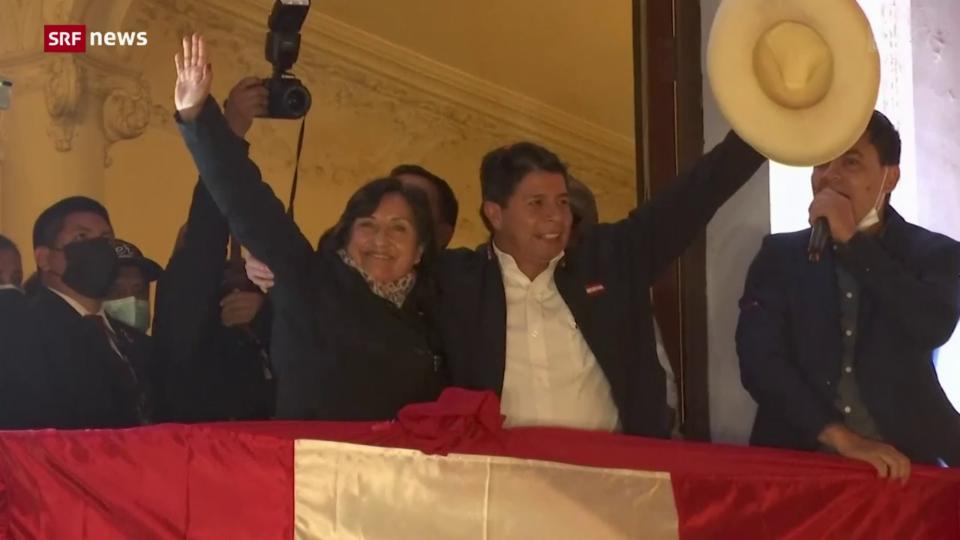Aus dem Archiv: Pedro Castillo gewinnt Präsidentenwahl in Peru