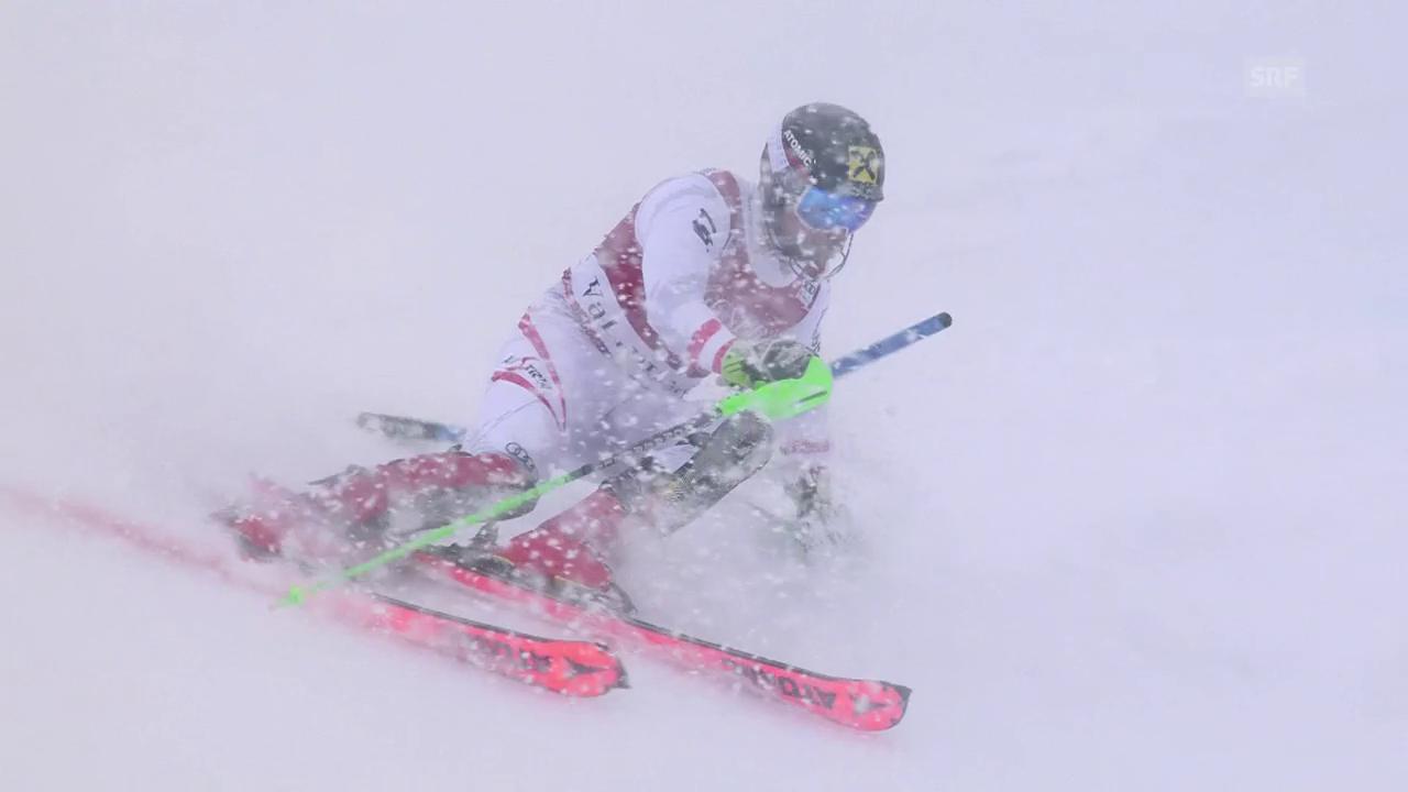 Hirscher triumphiert im Slalom von Val d'Isère