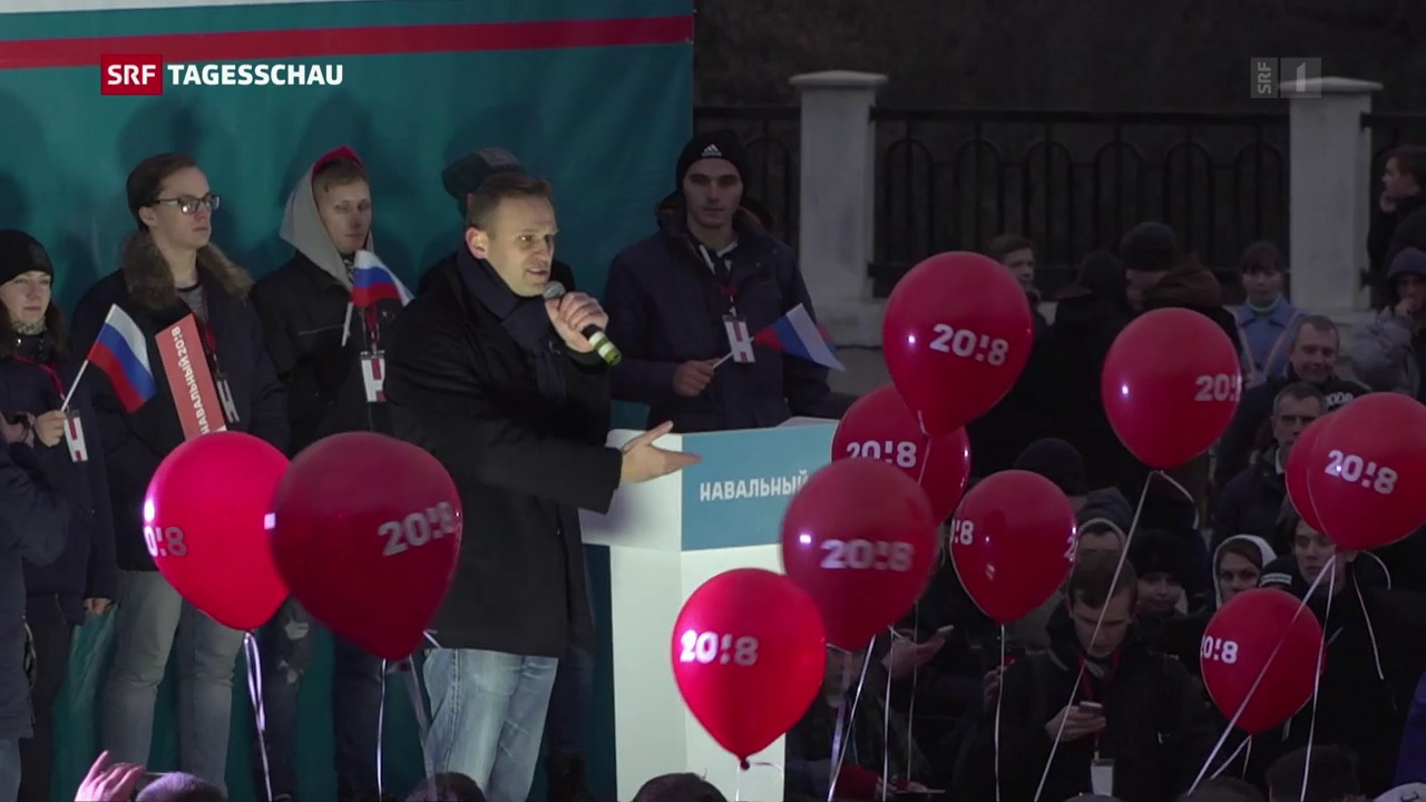 Opposition protestiert in Russland
