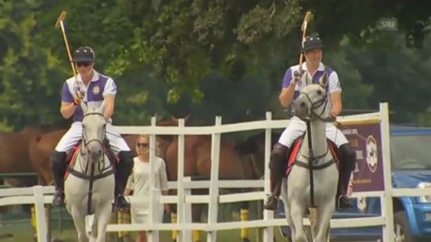 Video «Prinz William spielt Polo» abspielen