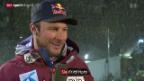 Video «Lauberhorn-Sieger Svindal im Interview» abspielen