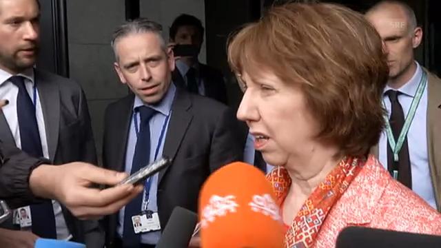 Ashton gratuliert Serbien und Kosovo (engl.)