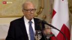Video «Staatsbesuch aus Tunesien» abspielen