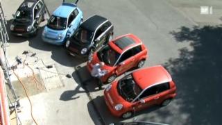 Video «Elektroautos bringen das Stromnetz an seine Grenzen » abspielen