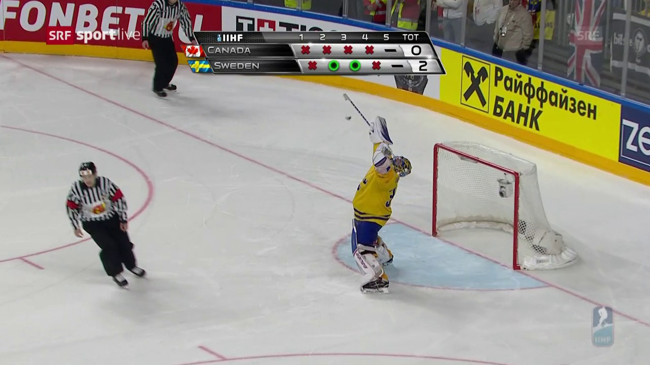 Kanada scheitert gleich reihenweise an Henrik Lundqvist