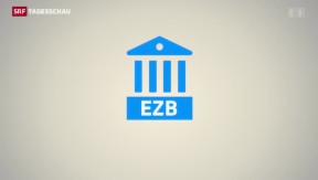 Video «Die EZB-Geldpolitik wird noch lockerer» abspielen