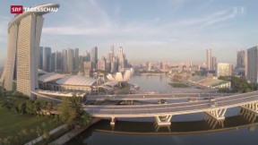 Video «Singapurer wählen neues Parlament» abspielen