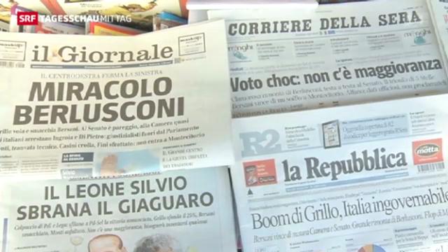Patt nach den Wahlen in Italien