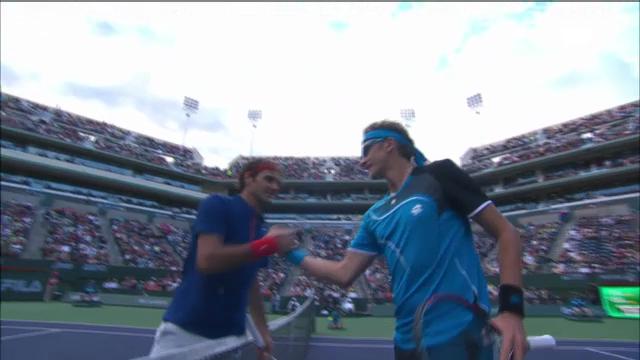 ATP Indian Wells: Schlussphase Federer - Istomin