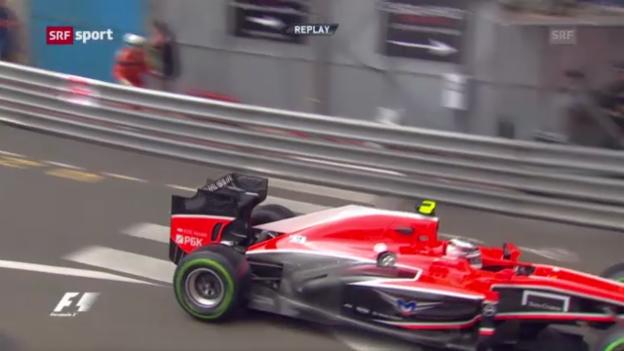Video «F1: Qualifying zum GP in Monaco («sportaktuell»)» abspielen