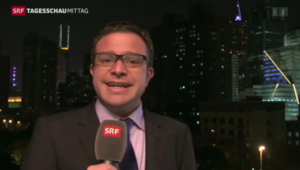 SRF-Korrespondent Nufer zu den Protesten in Hongkong