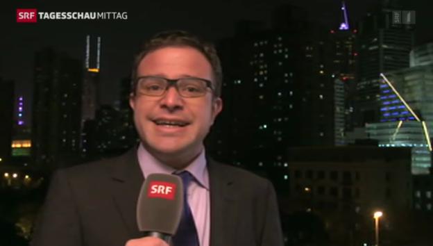 Video «SRF-Korrespondent Nufer zu den Protesten in Hongkong» abspielen