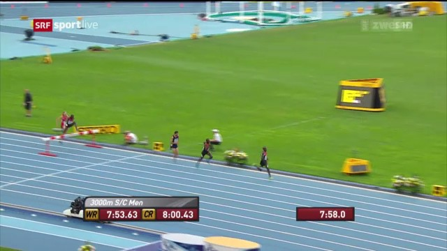 LA-WM: Final über 3000 m Steeple