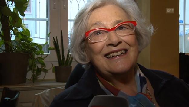 Video «Elisabeth Schnell über ihr Engagement für «Die Kleine Niederdorfoper»» abspielen