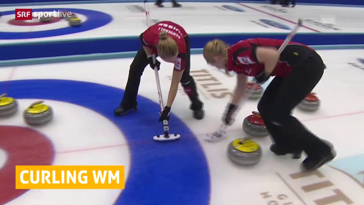 Curling: WM in Sapporo, Spiele 6 und 7