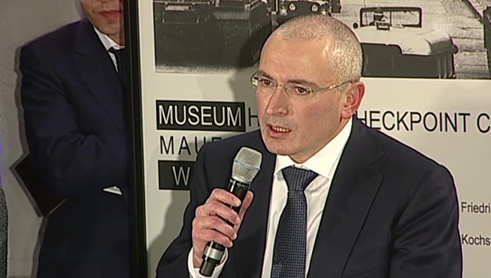 Chodorkowski über die Schweiz