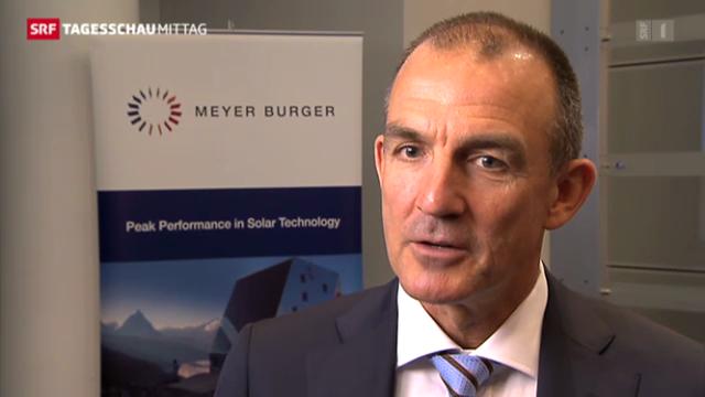 Meyer Burger mit leichten Verlusten