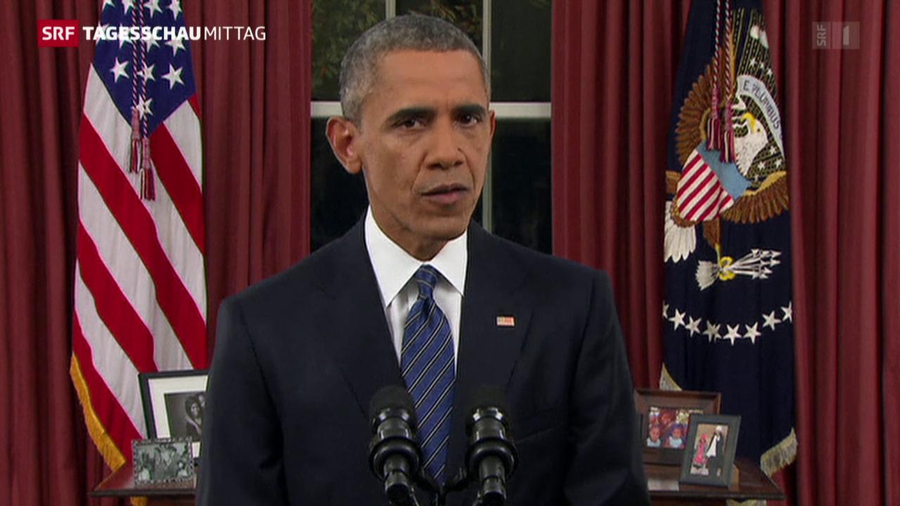 Obama spricht zur Nation