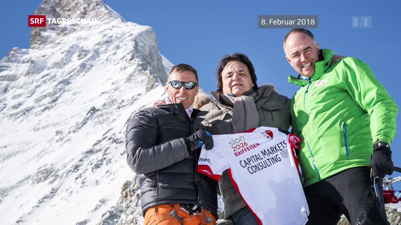 Busse für Feuer auf dem Matterhorn-Gipfel