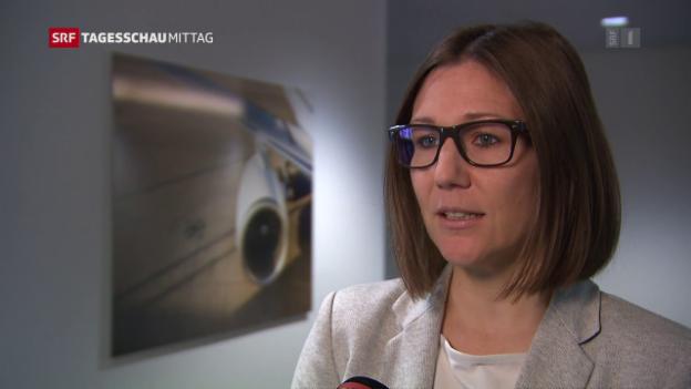 Video «Technische Probleme bei Swiss-Airbus» abspielen