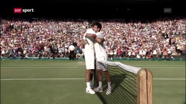Video «Der Rückblick auf Wimbledon («sportpanorama»)» abspielen