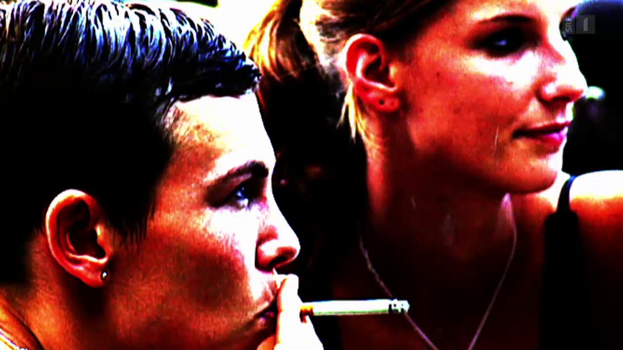 Junge rauchen wieder mehr