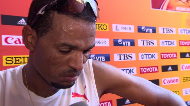 Video «Leichtathletik: WM in Peking, Tadesse Abraham Interview» abspielen