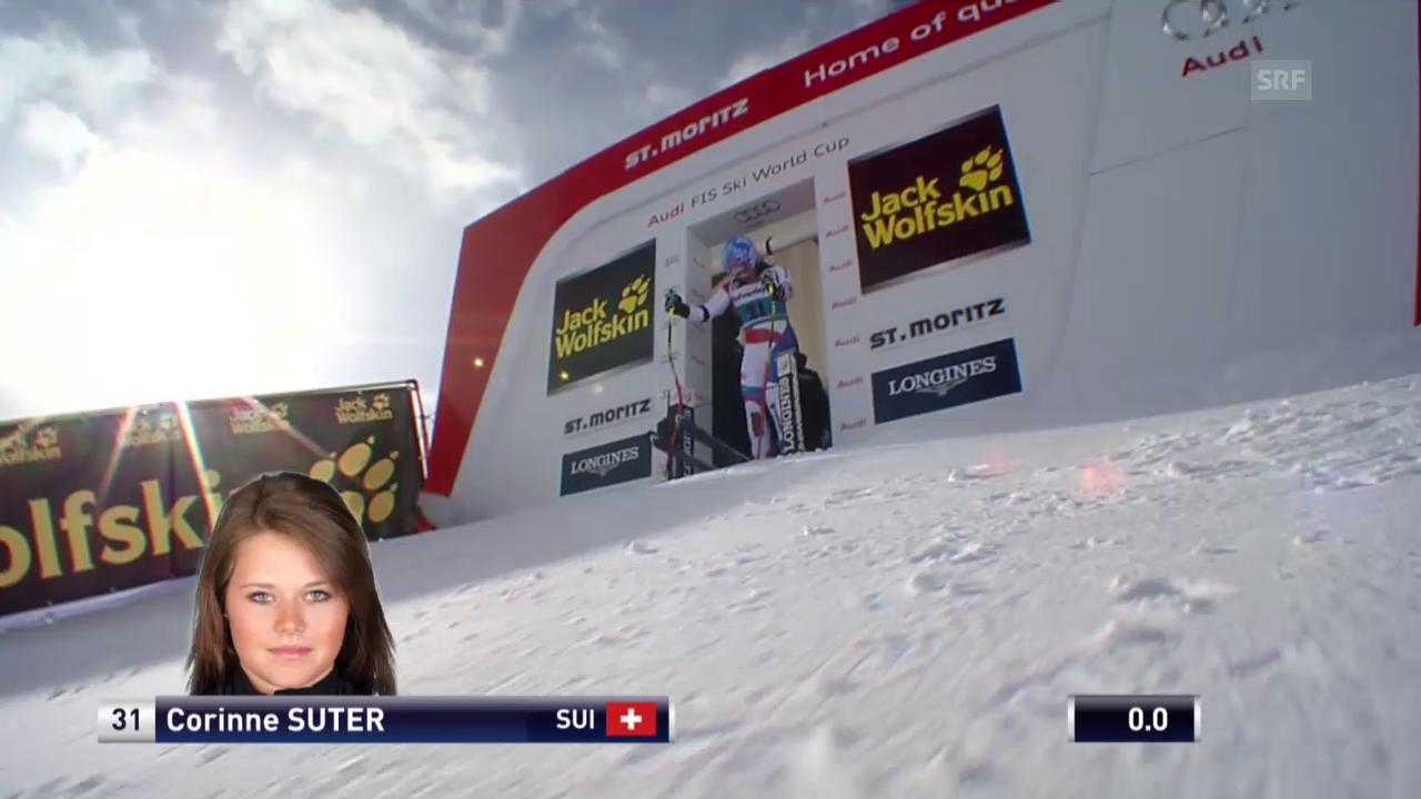 Ski: Die Fahrt von Corinne Suter