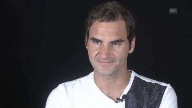 Video «Roger Federer erklärt, wie er sich verletzt hat» abspielen