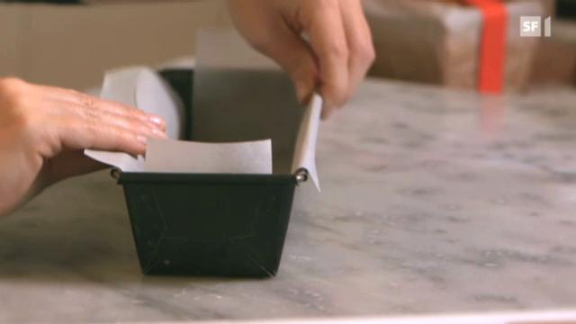 Backtipp: Backpapier richtig zuschneiden