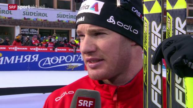 Video «Langlauf: Tour de Ski, 5. Etappe» abspielen