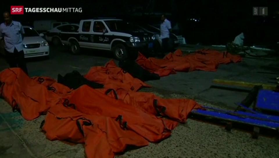 Wieder bis zu 200 tote Flüchtlinge vor Libyen