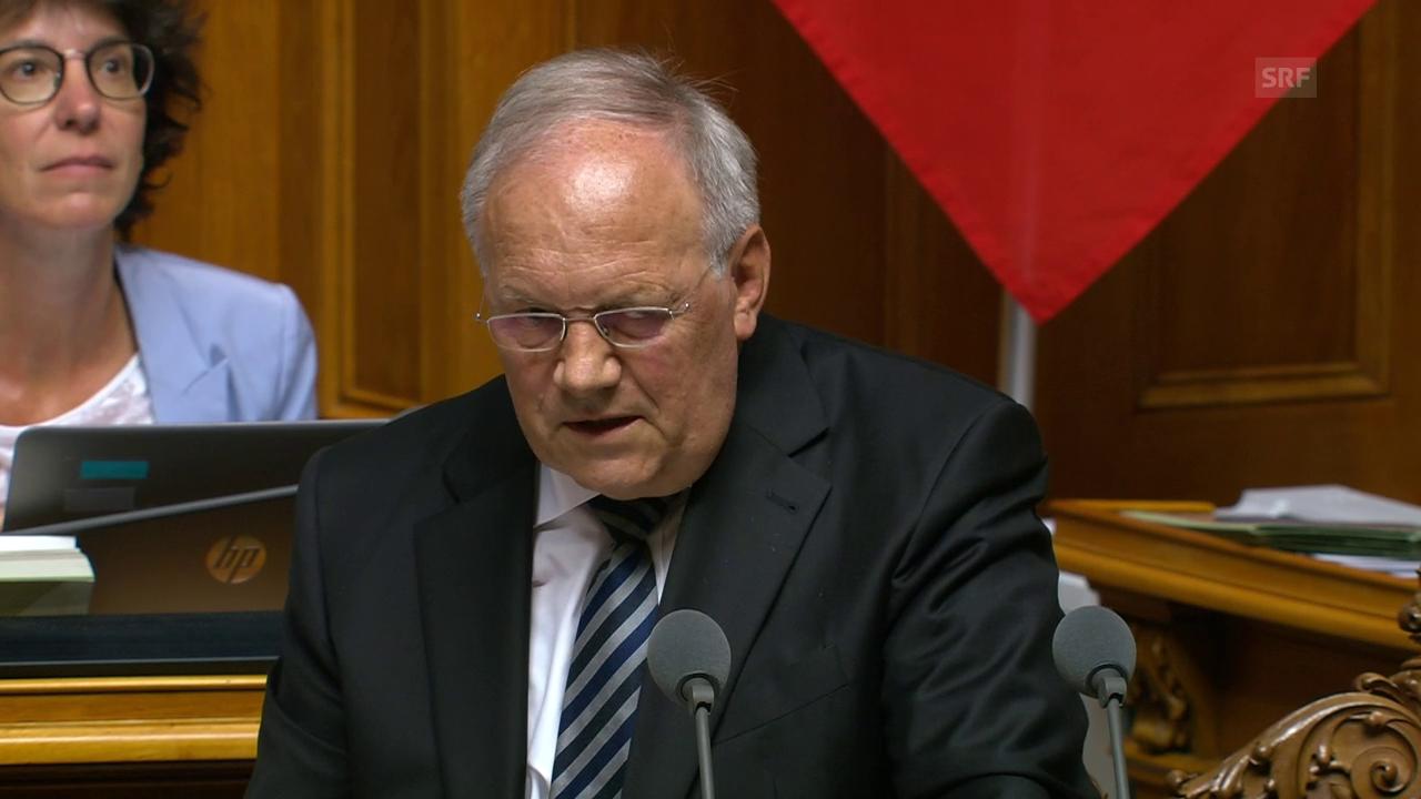 Schneider-Ammann: «Bundesrat braucht Sie»