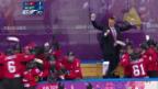Video «Sotschi: Eishockey Frauen, Bronzespiel, Schweiz - Schweden» abspielen