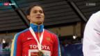 Video «Leichtathletik: Russland jubelt» abspielen
