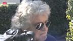Video «Grillo beleidigt Bersani» abspielen
